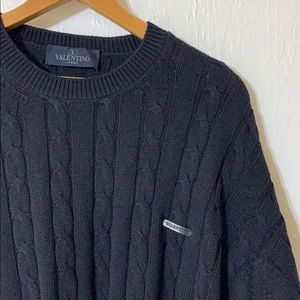 Valentino cable knit
